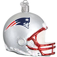 Old World Christmas New England Patriots Helmet Ornament