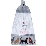 Kay Dee Designs Fur Real Pets Cat Tie Towel