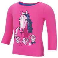 Carhartt Infant/Toddler Girls' Run For The Roses Long-Sleeve T-Shirt