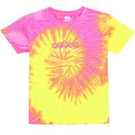 ESY Girls' Tie Dye Daisies Short-Sleeve T-Shirt