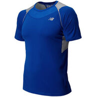 New Balance Men's Ice Short-Sleeve Shirt