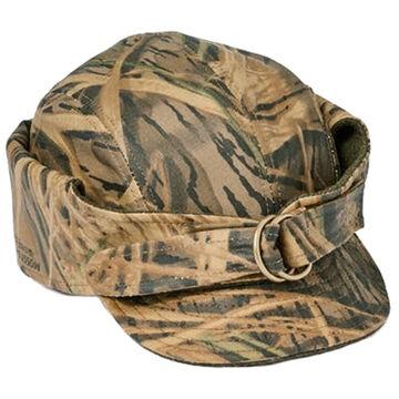 cf07c1aa2ed Filson Men s Mossy Oak Camo Tin Cloth Wildfowl Hat