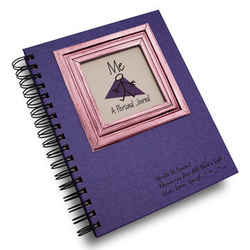 """Journals Unlimited """"Write it Down!"""" Personal Journal - Purple"""