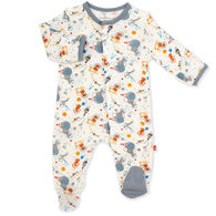 Magnetic Me Infant Boy's Astro Pups Modal Magnetic Footie Pajama