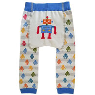 Huggalugs Infant/Toddler Robot Knit Pant