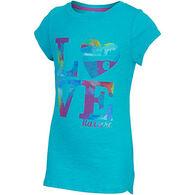 Carhartt Girls' Love Nature Cotton Slub Short-Sleeve T-Shirt