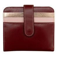 ili New York Women's Bi-Fold Credit Card Wallet with RFID Blocking