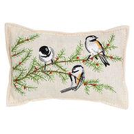"""Paine Products Balsam Fir 5"""" x 4""""  Chickadee Pillow"""