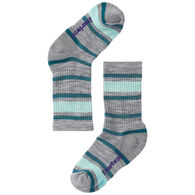 SmartWool Youth Striped Hike Light Cushioned Crew Sock