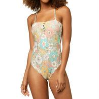 O'Neill Women's Praia Wildflower Cheeky One-Piece Swimsuit