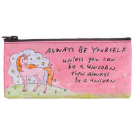 Blue Q Women's Always Be Yourself Unicorn Pencil Case