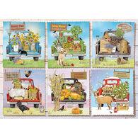 Outset Media Jigsaw Puzzle - Farmer's Market Trucks