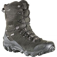 "Oboz Men's Bridger 10"" Waterproof BDry Insulated Hiking Boot, 400g"