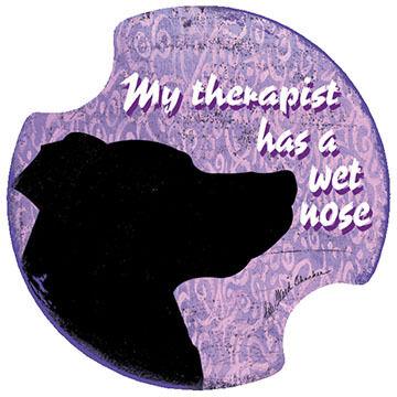 Thirstystone My Therapist Carster Coaster Set, 2-Piece