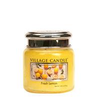 Village Candle Petite Glass Jar Candle - Fresh Lemon