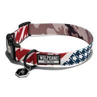 Wolfgang CamoFlag Dog Collar