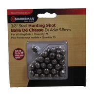 """Marksman 3/8"""" Steel Shot Slingshot Hunting Ammo (75)"""
