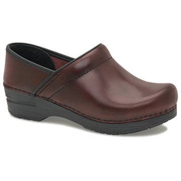 Dansko Womens Professional Cabrio Leather Clog