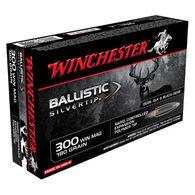 Winchester Ballistic Silvertip 300 Winchester Mag 180 Grain Polymer Tip Rifle Ammo (20)