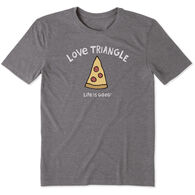 Life is Good Men's Love Triangle Cool Tee Short-Sleeve T-Shirt