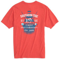 Southern Tide Men's Classic ST Boat Heather Short-Sleeve T-Shirt