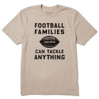 Life is Good Men's Football Families Crusher Short-Sleeve T-Shirt
