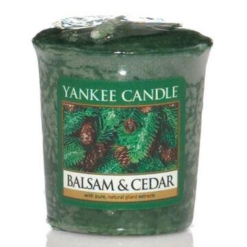 Yankee Candle Sampler Votive Balsam Cedar