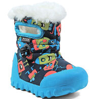Bogs Boys' & Girls' B-Moc Monsters Insulated Winter Boot