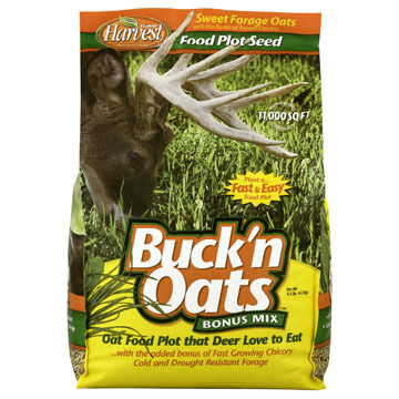 Evolved Habitats Buck'n Oats Bonus Mix w/ Chickory Food Plot Mix