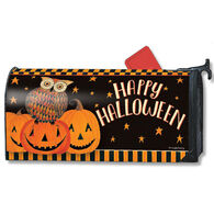MailWraps Owloween Fun Magnetic Mailbox Cover