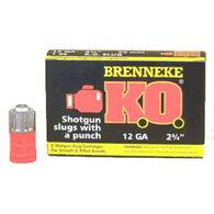 """Brenneke USA K.O. 12 GA 2-3/4"""" 1 oz. Slug Ammo (5)"""