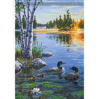 Carson Home Accents Flagtrends Morning On The Lake Garden Flag