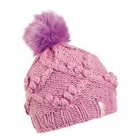 Turtle Fur Girls' Zerena Pom Beanie Hat