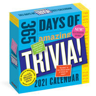 365 Days of Amazing Trivia! 2021 Page-A-Day Calendar by Workman Publishing