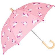 Hatley Girls' Majestic Unicorns Umbrella