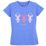 Soft As A Grape Women's Lobsters Love Maine Short-Sleeve T-Shirt