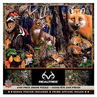 Leanin' Tree Jigsaw Puzzle - Forest Gathering