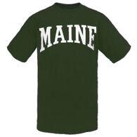 Cape Cod Textile Men's Maine Arch Design Short-Sleeve T-Shirt