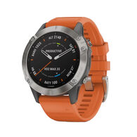 Garmin fēnix 6 Sapphire Titanium Multisport GPS Watch