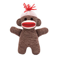 "Schylling Sock Monkey Baby 7"" Stuffed Toy"