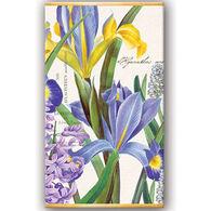 Michel Design Works Hyacinth Iris Matchbox