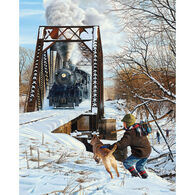 White Mountain Jigsaw Puzzle - River Crossing