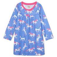 Hatley Girl's Dreamy Unicorns Long-Sleeve Nightdress