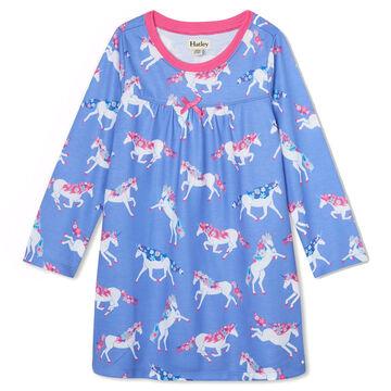 Hatley Girls Dreamy Unicorns Long-Sleeve Nightdress