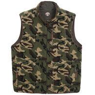 Madison Creek Outfitters Men's Camo Reversible Fleece Vest