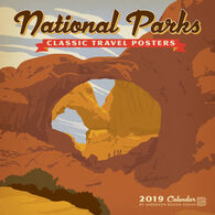 b417f6b1e95a National Parks Classic Posters 2019 Wall Calendar by Anderson Design Group