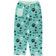 Lazy One Women's Dog Mom Regular Fit PJ Pant