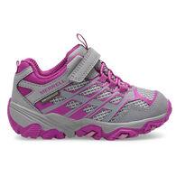 Merrell Girls' Little Kid Moab FST Low A/C Waterproof Hiking Shoe