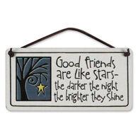 "Spooner Creek ""Good Friends Are Like Stars"" Mini Charmers Tile"