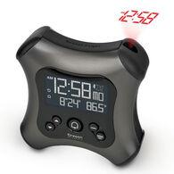 Oregon Scientific Projection Alarm Clock w/ Indoor Thermometer